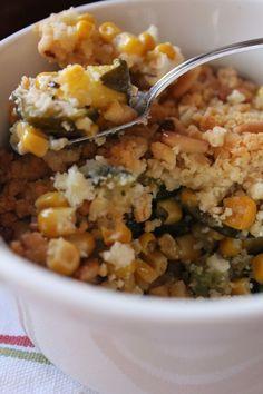 Crumble salato di mais zucchine feta e pinoli_una vegetariana in cucina