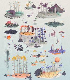Erwin Kho's Fantastical Digital 3D Illustrations