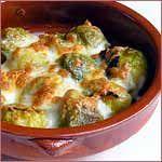Recetas de cocina faciles y ligeras: COLES DE BRUSELAS GRATINADAS