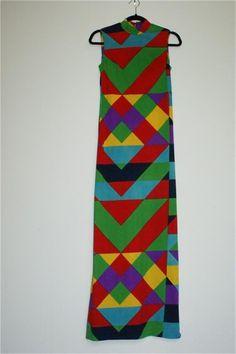 Vintage Lanvin '70's Maxi Dress http://tinyurl.com/77rf4d3  #Dress #Lanvin