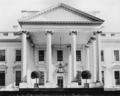 White House - The north face in 1941