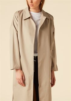 Show details for Yvonne Coat  - Beige