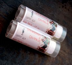STRAWBERRY CHAMPAGNE Lip Balm New Formula-Made by thecharmingfrog