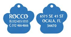 Custom pet tag Personalized dog tag laser by ChoiceAwardsnApparel