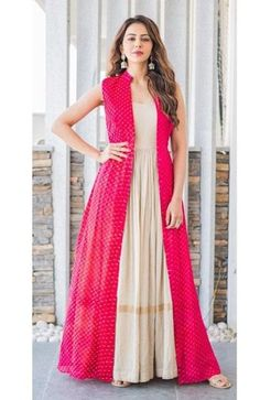 WhatsApp us at 9619997299 to order. Rakul preet indo Western jacket kurti WhatsApp us at 9619997299 to order. Rakul preet indo Western jacket kurti,Indian Fashion WhatsApp us at 9619997299 to order. Designer Party Wear Dresses, Indian Designer Outfits, Indian Outfits, Indian Attire, Kurta Designs, Kurti Designs Party Wear, Indian Gowns Dresses, Pakistani Dresses, Long Gown Dress