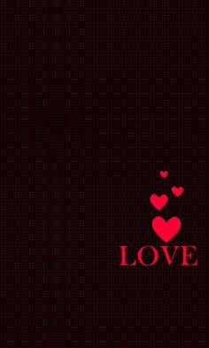 iPhone Wallpaper - Valentine's Day tjn x Heart Wallpaper, Love Wallpaper, Black Wallpaper, Iphone Wallpaper, Free Video Background, Heart Background, Ipod 6, Love You Images, Love Backgrounds