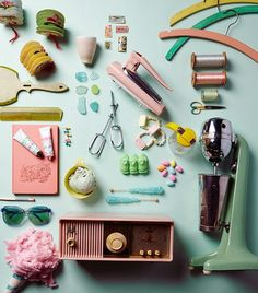 Pastel Color Palette Inspiration by AphroChic