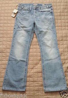 #jeans men sale MEK DENIM men jeans 33 x 34 boot cut NWT light blue model CURTIS withing our EBAY store at  http://stores.ebay.com/esquirestore