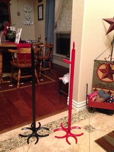 Wreath stand/holder on Etsy, $25.00