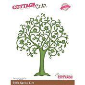 CottageCutz Elites Die - Bella Spring Tree