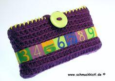 Schulanfang Einschulung Taschentüchertasche von www.Schmuckkistl.de auf DaWanda