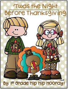 """FREE!! The Night Before Thanksgiving...Literacy Activities ....Follow for Free """"too-neat-not-to-keep"""" teaching tools & other fun stuff :)"""