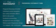 Tripod - Professional WordPress Photography Theme - ThemeForest Item for Sale
