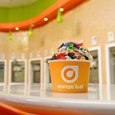 Photo of Orange Leaf Frozen Yogurt - Dayton, OH, United States. What's in your cup? #orangeleaf