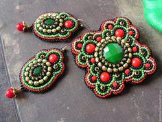Комплект -Baroque-. Handmade.