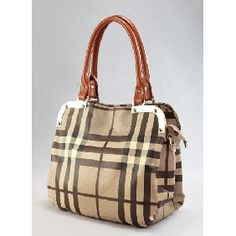 Elegant Metal Chequered Two Ways Bag