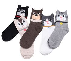Hot Sale Cute Panda Socks Funny 3d Printed Sock Women Harajuku Panda Ankle Length Cotton Soft Casual Charactor Sock Bright In Colour Underwear & Sleepwears Socks