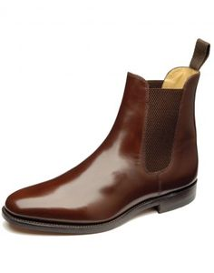 Loake Men's 290 Formal Chelsea Boots - Brown. Spiffing up your Blundstone's.