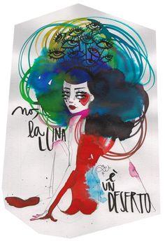 LucreziaU è una giovane grafica e illustratrice freelance, laurea in architettura ad Alghero e corso in Graphic Design allo IED di Milano. Questa la sua visione colorata per YESEYA.