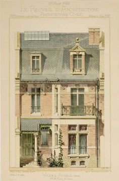 French Architectural 1874