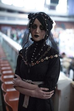 Me, as Iris von Everec, looking sad at ComicCon Spb (those pearls and metal rings cost me so much blood eheh). I wanted to cosplay as Iris since the first time I saw her, so, yeah, finally dreams c...