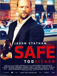 Safe , starring Jason Statham, Catherine Chan, Chris Sarandon, Robert John Burke. Mei, a young girl whose memory holds a priceless numerical code, finds herself pursued by the Triads, the Russian mob, and corrupt NYC cops. Coming to her aid is an ex-cage fighter whose life was destroyed by the gangsters on Mei's trail. #Action #Crime #Thriller