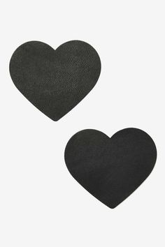 Love Leather Pasties - Hearts