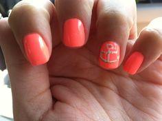 My vacation nails! #bahamas