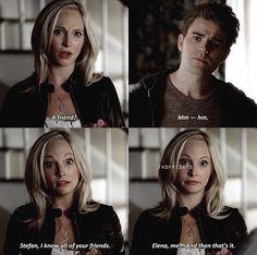 The Vampire Diaries 6x11 Stefan & Caroline
