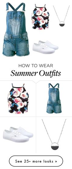 """""""summer outfit #2"""" by hodan-dahir on Polyvore featuring Sally&Circle, Vans, White House Black Market, women's clothing, women's fashion, women, female, woman, misses and juniors"""