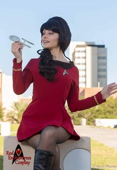 Cosplay and Custom Creations by Star Trek Crew, Star Trek 1, Enchantress Cosplay, Star Trek Uniforms, Game Of Thrones Cosplay, Star Trek Cosplay, Star Trek Images, Star Trek Characters, Star Trek Original Series