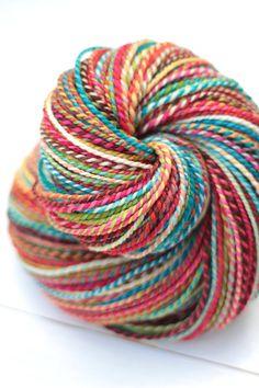 handspun yarn - 288 yards - dk - superwash merino
