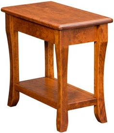 Berkley End Table w/Shelf in Oak