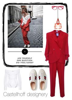 """#constantlyk"" by castellhoff on Polyvore featuring Mode, GF Ferré, Gucci, Johanna Ortiz, influencer und constantlyk I Feel Good, Gucci, This Or That Questions, Shoe Bag, Polyvore, Stuff To Buy, Shopping, Shoes, Collection"
