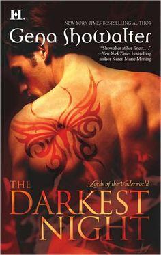 The Darkest Night (Lords of the Underworld #1) by Gena Showalter