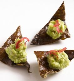 Adding edamame to avocado lightens up the taste, texture, and fat levels. We're serving Edamame Guacamole at the #Oscars Governors Ball.