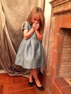 www.mamibu.com #Lamascot #madeinitaly #vestito #bambina  #Dress #littlegirl