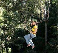 ziplining with Flight of the Gibbon