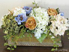 fall silk floral arangements   ... Gilded Bloom: Fall Floral Arrangements: Designing with Silk Flowers