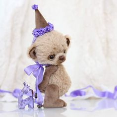 By Anna Volkova ❤️ successfully blending different types of fabric to make a gorgeous ted !