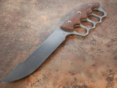 Jeremy Horton custom trench knife