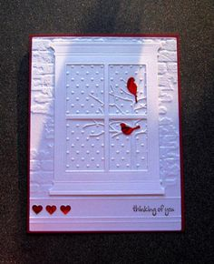 CAS251 - Touches of Red by catluvr2 - Cards and Paper Crafts at Splitcoaststampers