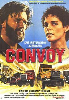 Convoy, mitico film di Sam Peckinpah sulla rivolta dei camionisti in USA.