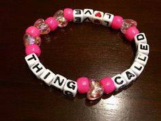 Thing Called Love Above & Beyond Kandi Bracelet by KandilandUSA