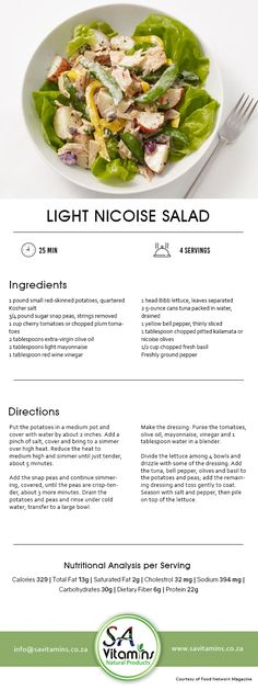 Lunch Hour is the Best Hour! Try our Healthy Lunch Recipes now for a better and healthier lifestyle. Nicoise Salad, Cherry Tomatoes, Lunch Recipes, Lettuce, Healthy Lifestyle, Mad, Nutrition, Stuffed Peppers, Luncheon Recipes