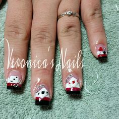Las vegas nail art nails pinterest las vegas nails vegas nailedbyvee casino nails 3d art cards poker nail rhinestones crystals bling las vegas ace black prinsesfo Images
