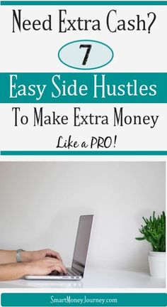 Do you run out of money before the end of the month? Check out these 7 easy side hustles that will show you how to make money online fast. Earn More Money, Make Money Fast, Ways To Save Money, Make Money From Home, Money Tips, Money Saving Tips, Make Money Online, Side, Managing Your Money