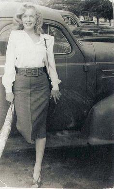 Marilyn Monroe, c. 1947