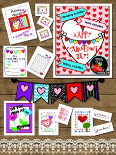 Valentine's Day in a Box...well,... in a pdf file.