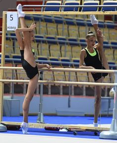 Aleksandra Soldatova, Russia, training before Universiade 2014